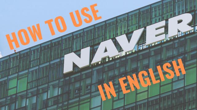Create naver account
